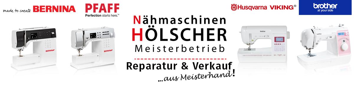 Nähmaschinen Hölscher! Nähmaschinen von Bernina, Brother, Husqvarna VIKING und Pfaff kann Nähmaschinen Hölscher reparieren und Verkaufen